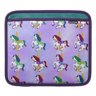 Manga del ipad de los caballos del carrusel mangas de iPad