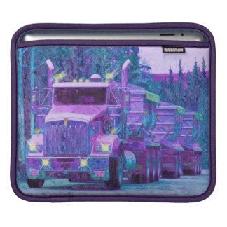Manga del iPad de los conductores de camión del ca Funda Para iPads