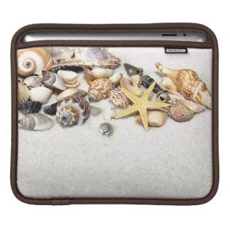 Manga del iPad de los Seashells Fundas Para iPads
