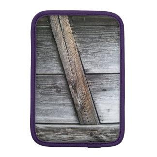Manga del iPad de madera del granero mini Funda iPad Mini