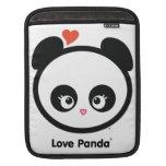 Manga del iPad de Panda® del amor Mangas De iPad
