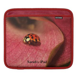Manga del iPad de señora Bug Fundas Para iPads