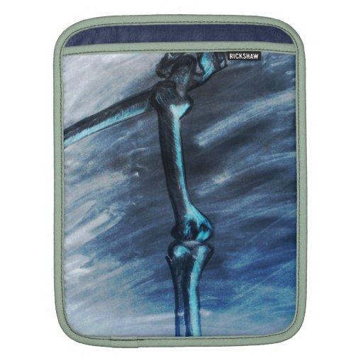 """Manga del iPad """"de una pierna para arriba"""" Funda Para iPads"""