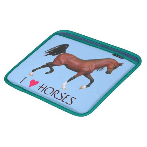 Manga del iPad del arte de los caballos del Mangas De iPad