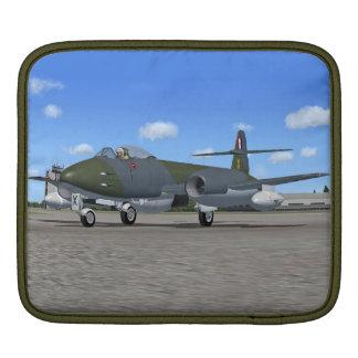Manga del iPad del avión de caza a reacción del me Mangas De iPad