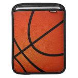 Manga del iPad del baloncesto Fundas Para iPads