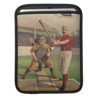 Manga del iPad del béisbol del vintage Mangas De iPad