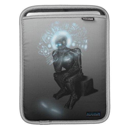 Manga del iPad del carrito del pensador de la máqu Fundas Para iPads