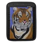 Manga del iPad del carrito del tigre Funda Para iPads