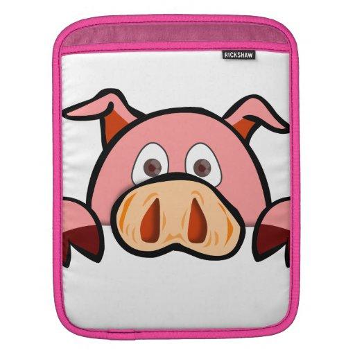 Manga del iPad del cerdo Mangas De iPad