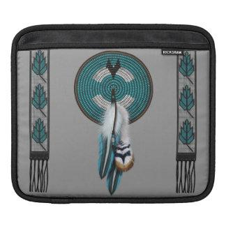 Manga del ipad del diseño del nativo americano fundas para iPads