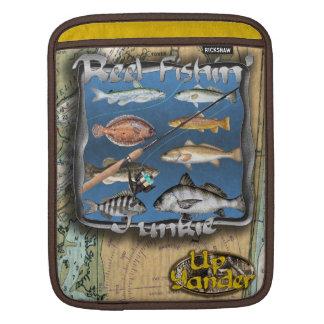 Manga del iPad del drogadicto de Fishin del carret Funda Para iPads