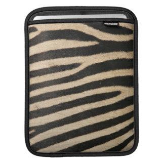 Manga del iPad del estampado de zebra Funda Para iPads
