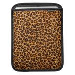 Manga del iPad del estampado leopardo Fundas Para iPads