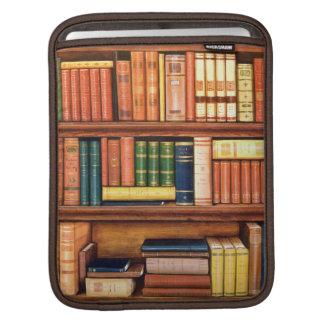 Manga del iPad del estante de la biblioteca del vi Funda Para iPads