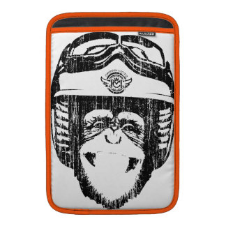 Manga del iPad del mono de Moto Funda Para Macbook Air
