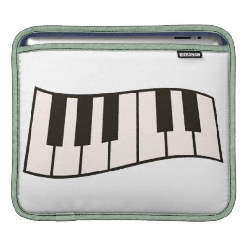 Manga del iPad del piano/del teclado Manga De iPad