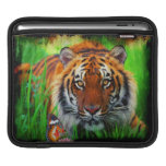 Manga del iPad del tigre 1A Funda Para iPads