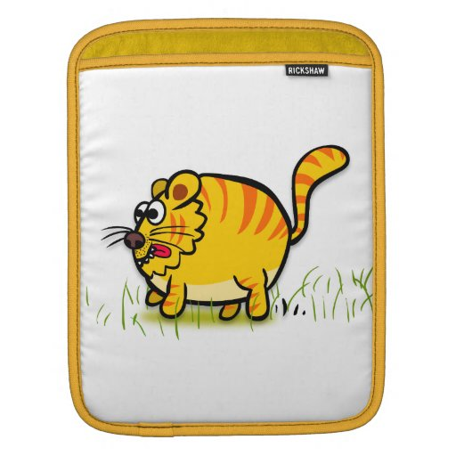 Manga del iPad del tigre Fundas Para iPads