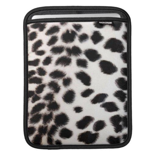 manga del iPad - impresión de la piel del guepardo Fundas Para iPads