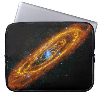 Manga del ordenador de la estrella del Andromeda Funda Computadora
