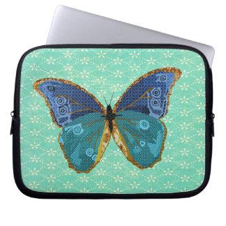 Manga del ordenador de la mariposa de Boho Mangas Portátiles