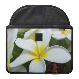 Manga del ordenador del Plumeria de Hawaii de la b Funda Para Macbook Pro