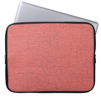 Manga del ordenador portátil - 15 pulgadas - rojo  fundas computadoras
