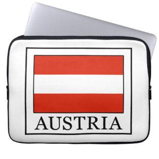 Manga del ordenador portátil de Austria Fundas Computadoras
