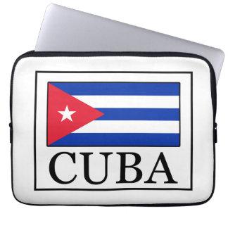 Manga del ordenador portátil de Cuba Manga Portátil