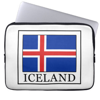 Manga del ordenador portátil de Islandia Fundas Computadoras