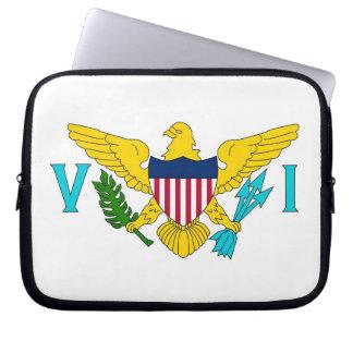 Manga del ordenador portátil de la bandera de las  fundas ordendadores