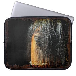 manga del ordenador portátil de la foto del ojo de fundas computadoras