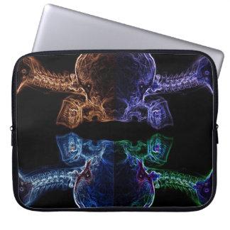 manga del ordenador portátil de la mezcla de la ra fundas computadoras