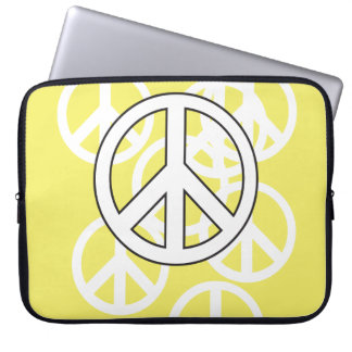 Manga del ordenador portátil de la paz mangas portátiles