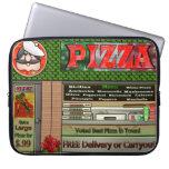 Manga del ordenador portátil de la pizza manga portátil