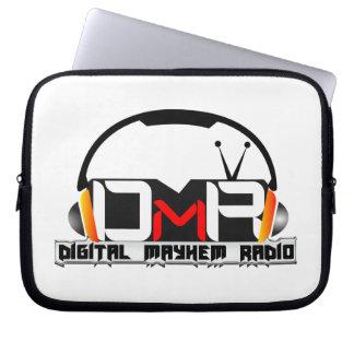 Manga del ordenador portátil de la radio de la mut mangas portátiles