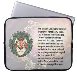 Manga del ordenador portátil de Leo del origen Funda Ordendadores