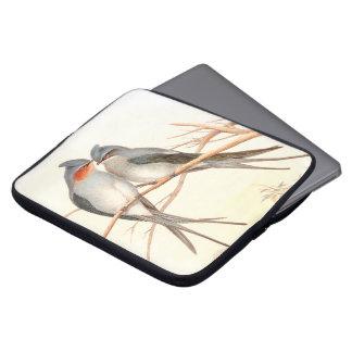 Manga del ordenador portátil de los pájaros del fundas ordendadores