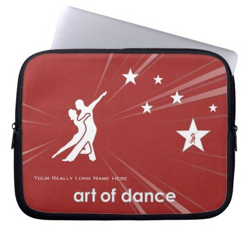 Manga del ordenador portátil del bailarín de la es mangas portátiles