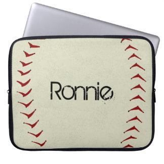 Manga del ordenador portátil del béisbol mangas computadora