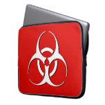 Manga del ordenador portátil del Biohazard - hueso Funda Ordendadores
