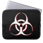 Manga del ordenador portátil del Biohazard - hueso Funda Portátil