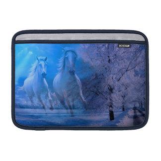Manga del ordenador portátil del caballo del alcoh funda  MacBook