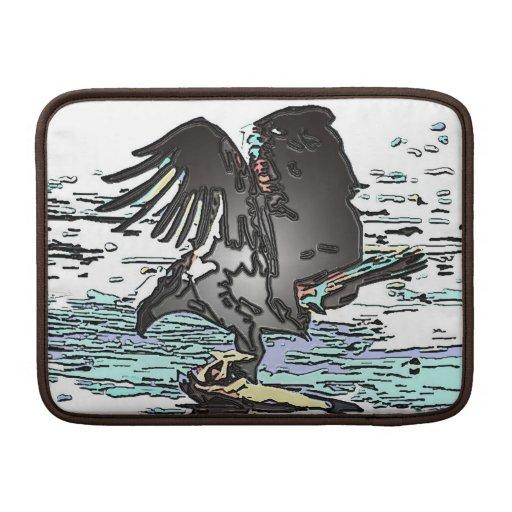 Manga del ordenador portátil del carrito del pájar fundas macbook air