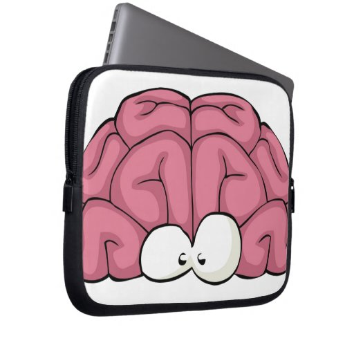 Manga del ordenador portátil del cerebro manga portátil