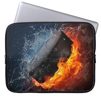 Manga del ordenador portátil del drama del hockey funda computadora