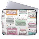 Manga del ordenador portátil del ejemplo de la máq funda portátil