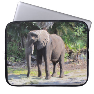 Manga del ordenador portátil del elefante fundas computadoras