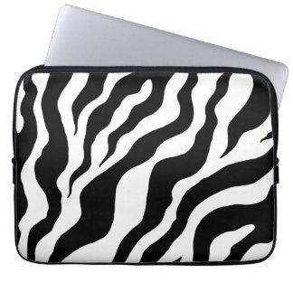Manga del ordenador portátil del estampado de zebr mangas computadora